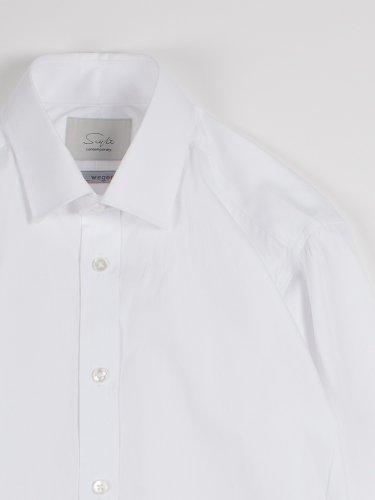 【wegenk】×【scylt】Dress shirt WHITE