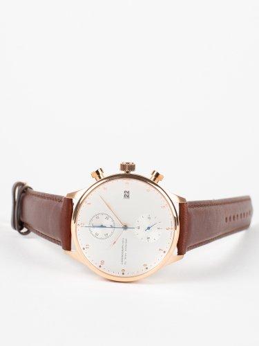 1815 CHRONOGRAPH クロノグラフ時計 ローズゴールドダークブラウンレザー