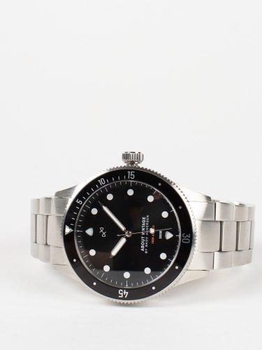 1926 At'sea シルバー×ブラック  時計
