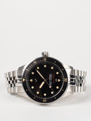 1926 At'sea シルバー×ブラック ヴィンテージ 時計
