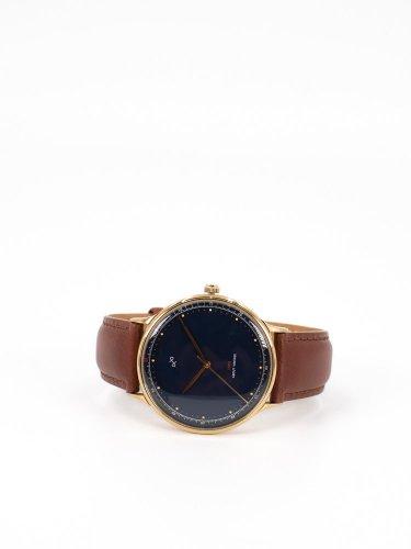 1969 Vintage 時計 ゴールドケースミッドナイトブルー