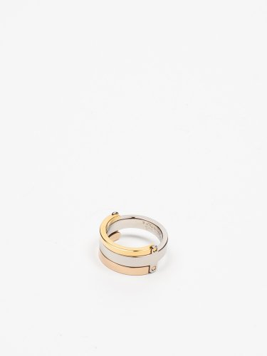 BARDOT TRE TONE RING ゴールド/ローズゴールド/シルバー リング 指輪