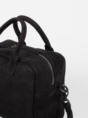 BOWLING BAG NABUK BLACK ボーリングバッグ