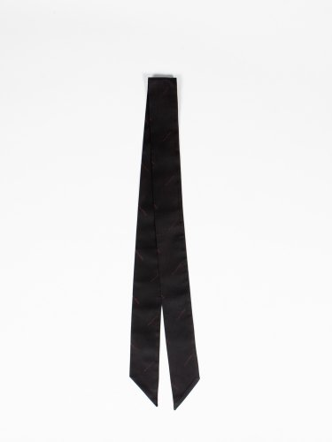 exclusive scarf black