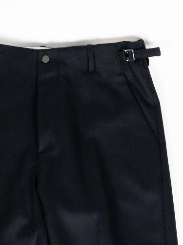 NO TUCK STRAIGHT PANTS BLACK