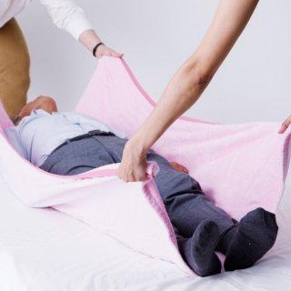 ベッド移動用バスタオル