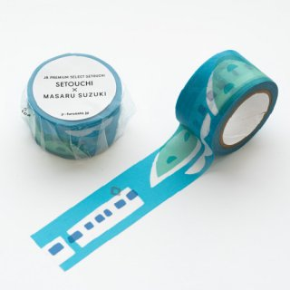 【岡山県産品】JR PREMIUM SELECT SETOUCHI SETOUCHI Masking Tape 5