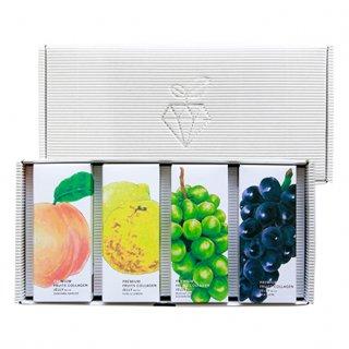 【岡山県産品】果実工房 プレミアムフルーツコラーゲンゼリー4種セット
