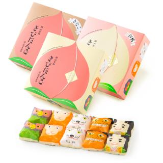 【岡山県産品】 山方永寿堂 かわいいきびだんごの詰め合わせ