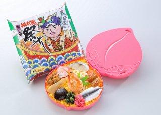 【岡山県産品】三好野本店 冷凍駅弁  桃太郎の祭ずし  3個セット