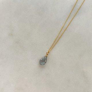 【Shizuku】モスアクアマリンのネックレス