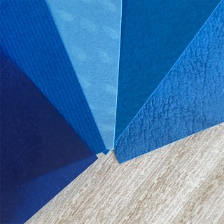 青色セット売りの商品画像