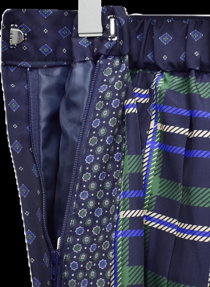 チェックと小花模様の ギャザースカート【画像7】
