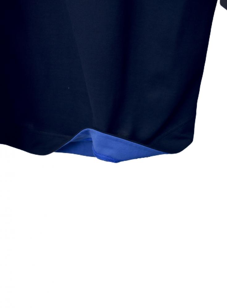 QVC 綿100% 配色 刺繍入り チュニック【画像12】