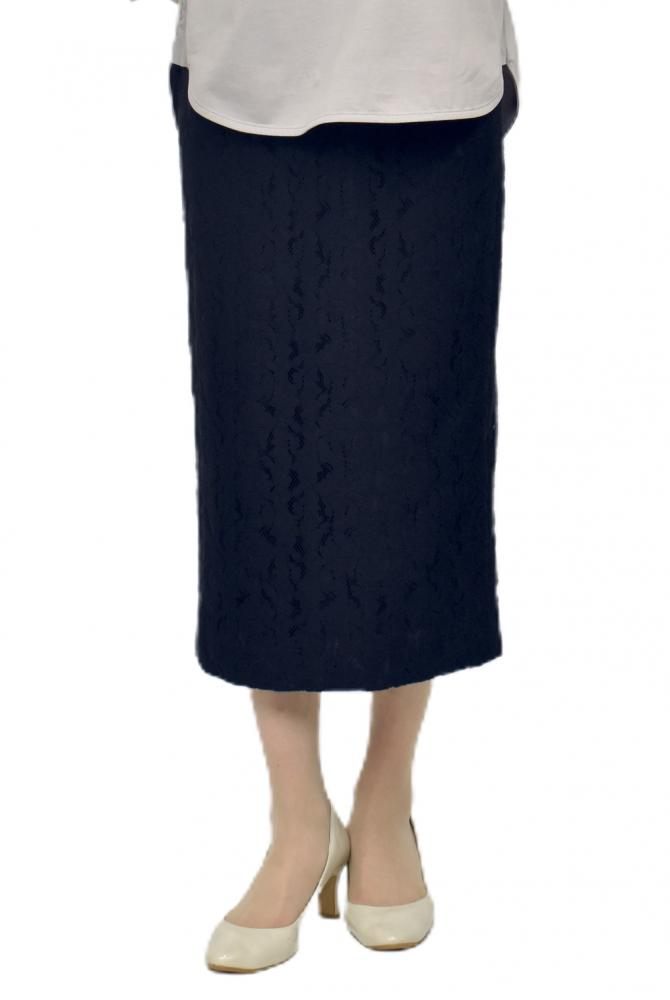 QVC掲載商品 エレガンス総レースタイトスカート