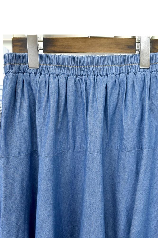 QVC変形デニムスカート【画像13】