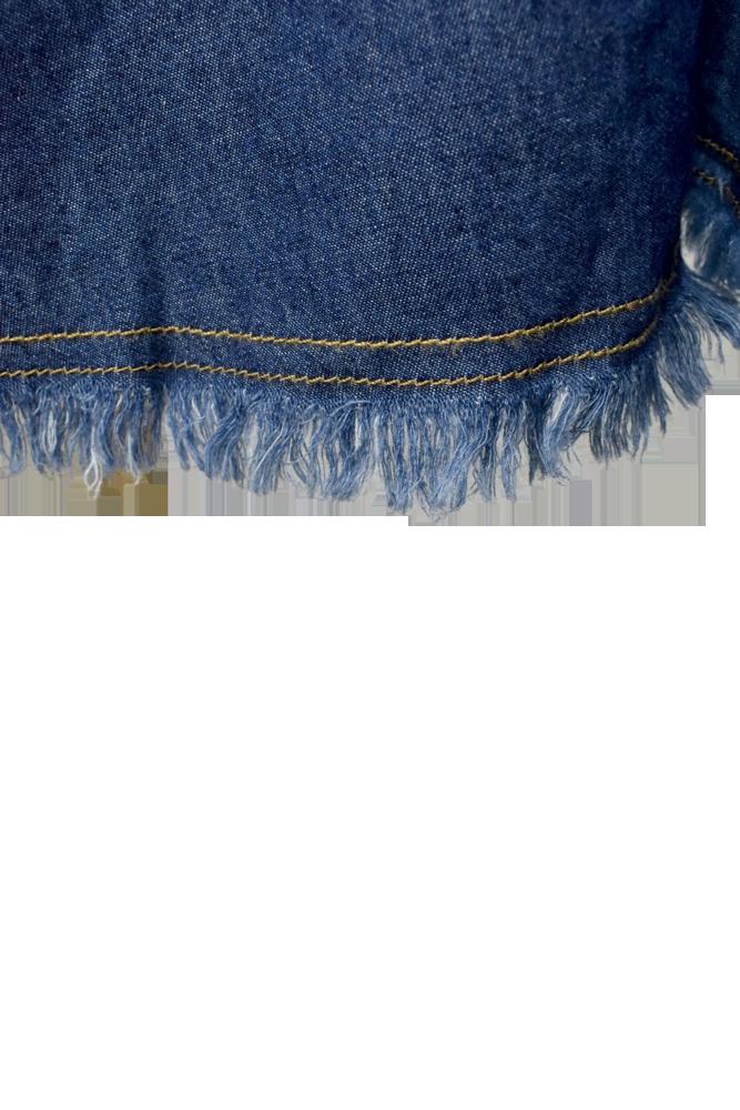 QVC変形デニムスカート【画像10】