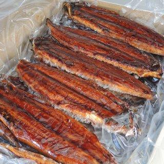 うなぎ蒲焼(有頭腹開き40尾サイズ)5kg/炭火焼き/フランス種