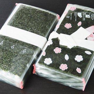 手巻き海苔(末広巻フィルム柄入)100枚