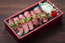 黒毛和牛赤身ステーキ弁当