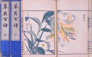 草花百種  元版  全4冊