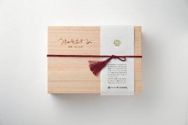 うまのせあわび煮貝(韓国産)‐桐箱入り
