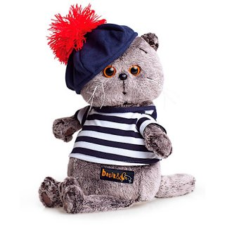 Basik 水兵シャツ&ベレー帽