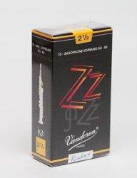 ソプラノサックスリード バンドレン(バンドーレン) ZZ Vandoren [ZZ] Jazz