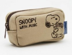 SNOOPY スヌーピー マウスピースポーチ ホルン用 SMP-HRBGB