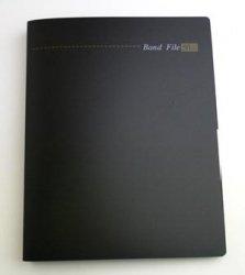 ルーズリーフバインダータイプ バンドファイルA4版