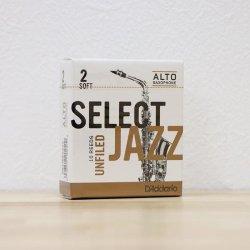 アルトサックス用リード リコ ジャズセレクト Rico JAZZ SELECT 10枚入り アンファイルド/ファイルド