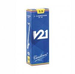 バスクラリネットリード バンドレン(バンドーレン) Vandoren V21 5枚入り アンファイルド