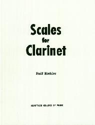 [クラリネット教本]「アイヒラー クラリネットのためのスケール」