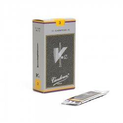 Eb(エス)クラリネットリード バンドレン(バンドーレン) Vandoren V.12 銀箱 10枚入り