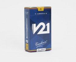 Bbクラリネットリード バンドレン(バンドーレン) Vandoren V21 10枚入り アンファイルド