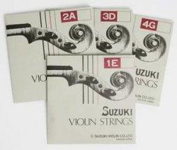 バイオリン弦 4/4  スズキSUZUKI 2弦 A線