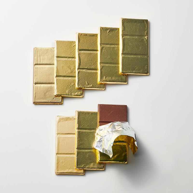 デラックスミルクチョコレート 15g×8