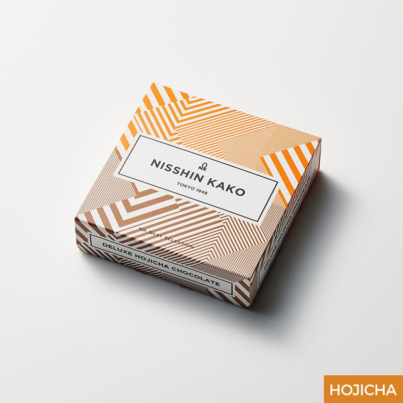 デラックスほうじ茶チョコレート 15g×8