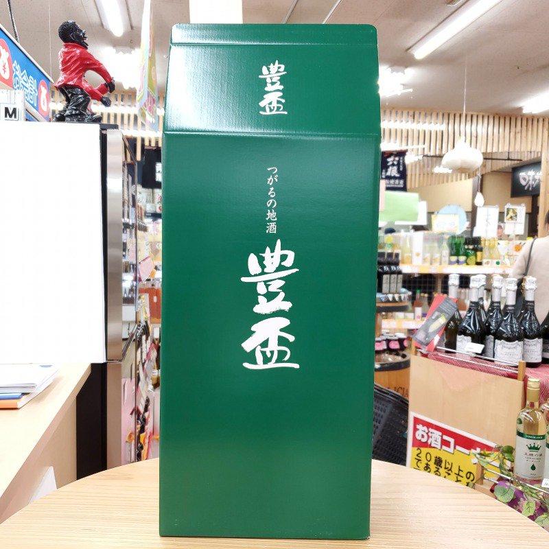 豊盃専用 1.8L用 2本入れギフト箱(当店包装紙での包装サービス)