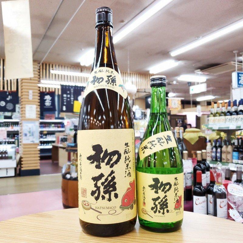 初孫 生酛純米酒 ※1.8Lは箱別売り※