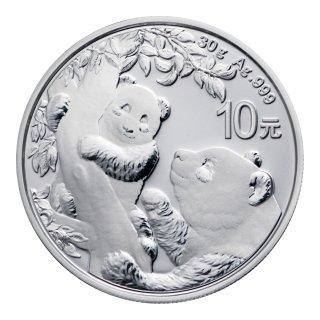 パンダ銀貨 2021年
