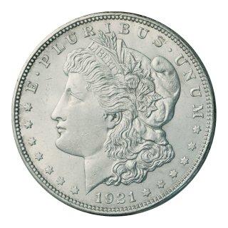 アメリカ 1921年 1ドル銀貨 モルガンダラー(極美〜未使用)