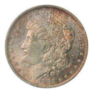 アメリカ 1885年(O)  1ドル銀貨 モルガンダラー PCGS MS63
