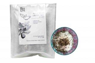 ぴりかめのこ風呂・入浴剤 B1いちじくの葉+緑茶