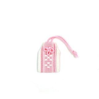 花織マブヤお守り ピンク