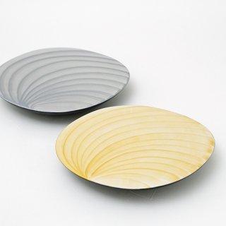 楕円高台鉢(2色)