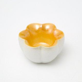 ラスター内金風花型小鉢