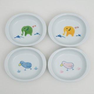 楕円皿(4柄)