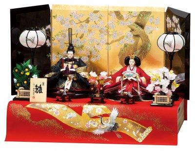 A-301(京十番親王揃  収納飾り)