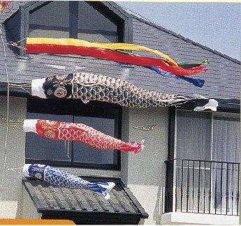 3M鯉のぼり庭用ガーデンセット(打ち込みタイプ)